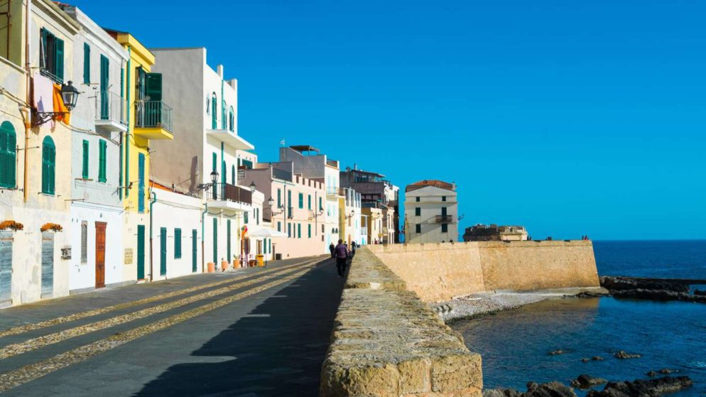 The Via Garibaldi Will Take You To The Marina District Of Alghero