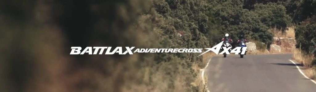 Battlax Adventurecross AX41. Ready for anything.