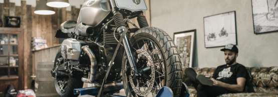 A bespoke scrambler tyre - AX41S