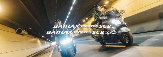 Battlax Scooter SC2 and SC2 Rain