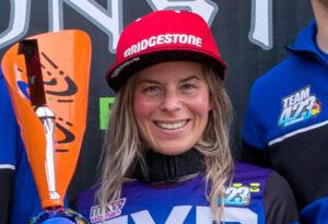 Larissa papenmeier, biker girl and Bridgestone ambassador