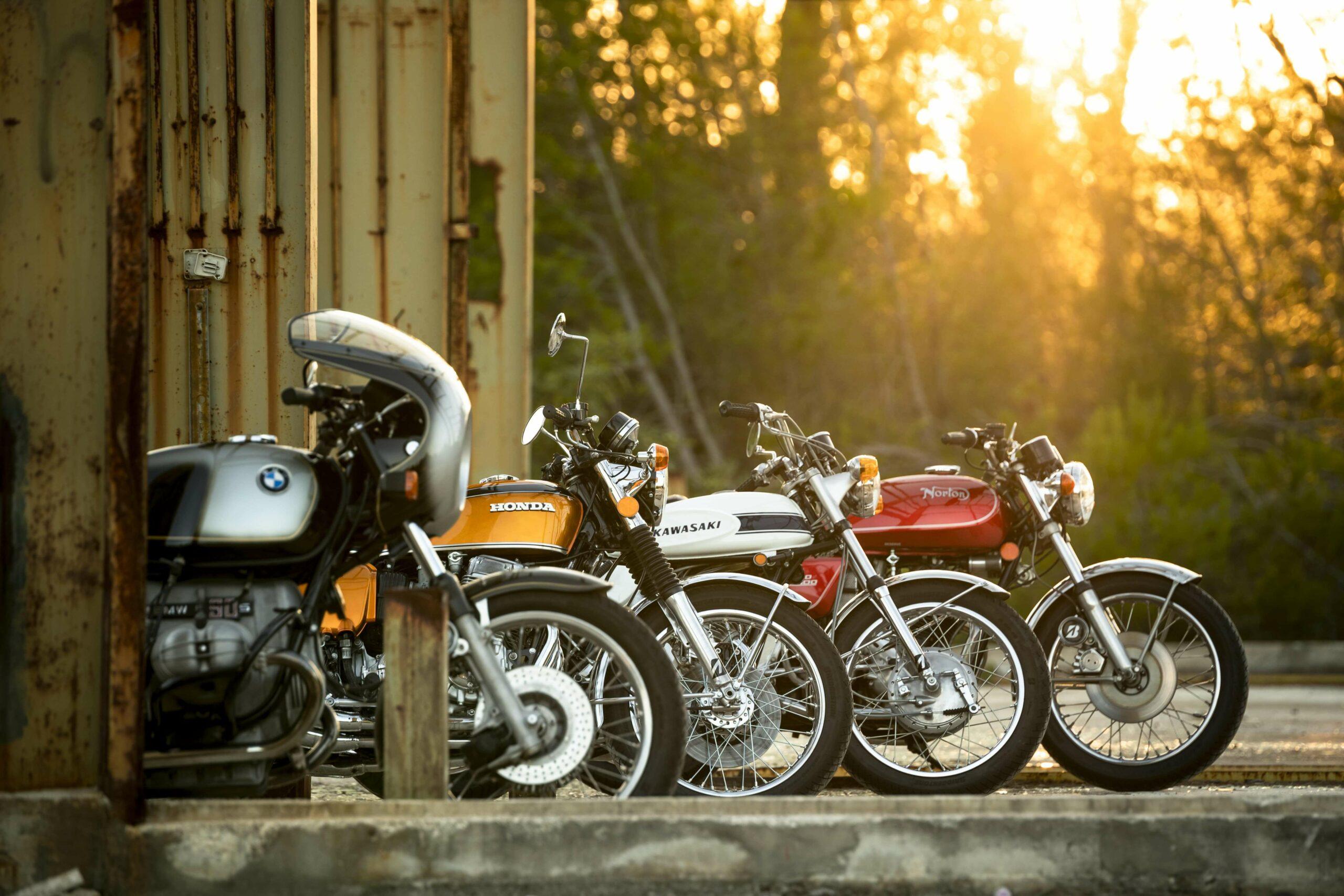 Classic rides: old vs new economy