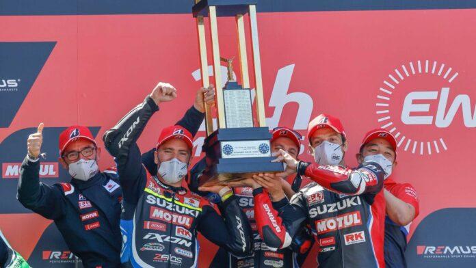 Yoshimura SERT Motul victorious at the 24 Heures Motos on Bridgestone tyres