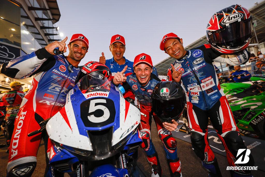 Victory for F.C.C. TSR Honda at Estoril